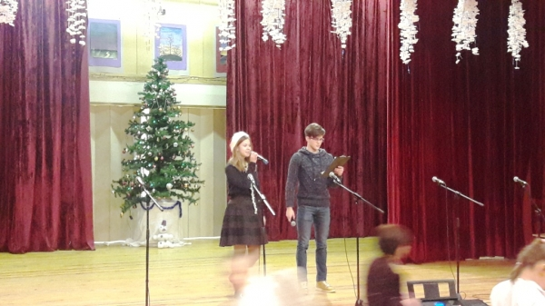 Christmas Concert in our school
